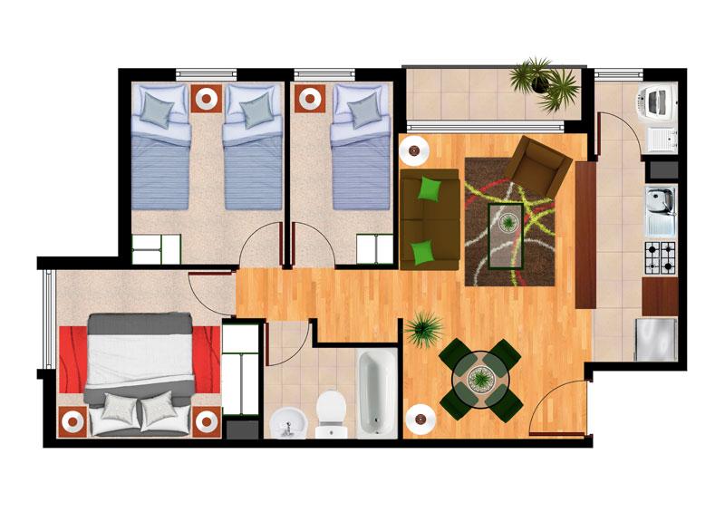 planta-3C-condominio-nueva-lafquénII