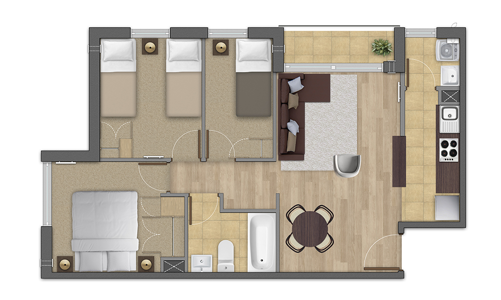 planta-3C-condominio-los-fundadores